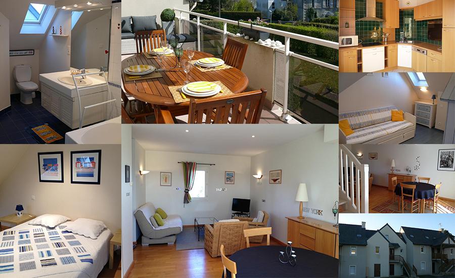 location meubl de tourisme appartement la richardais pr s de dinard. Black Bedroom Furniture Sets. Home Design Ideas