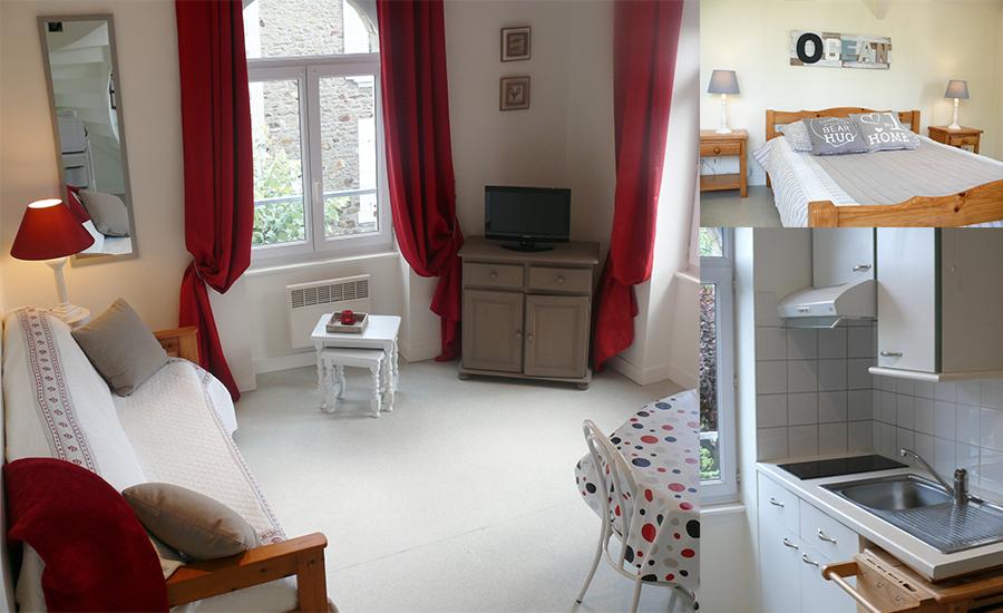 location appartement studio dinard r sidence le prieur. Black Bedroom Furniture Sets. Home Design Ideas